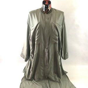 Stella Mccartney Oversized Silk Voile Duster